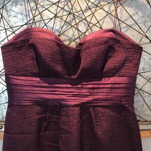 Elie Tahari Plum Purple Coctail Dress Size 2